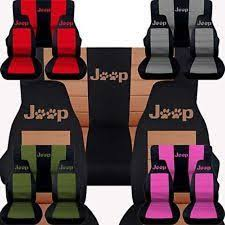 jeep paw prints car seat covers