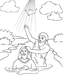 John The Baptist Coloring Page Vacation Bible School Sunday