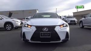 2018 Lexus IS350 F Sport 3.5 L V6 Review  J