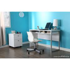 south shore interface desk in pure white 7350070 the home depot amazing home depot office chairs 4 modern