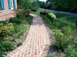 Brick Walkway Patterns Adorable Stone Paver Sidewalk Ideas Brick Paver Walkway Ideas Sidewalk