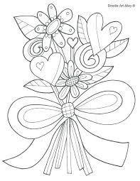 Coloring Pages For Girls Flowers Flower Girl Book As Well Wedding