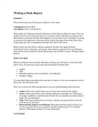 college application report writing form sample college book report