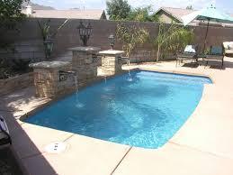 clearwater small inground fiberglass viking pool with amazing inground fiberglass pool