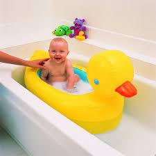 munchkin inflatable safety duck bath