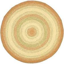 7 foot round rug braided rust multi 8 ft x 8 ft round area rug 7