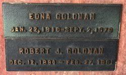 Edna Goldman (1910-1979) - Find A Grave Memorial