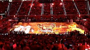 Rbc Center Seating Chart Nc State Basketball Nc State Basketball New Pregame Projections Onto The Court