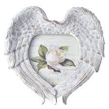 angel photo frames shabby chic wings frame with gorgeously editor angel photo frames