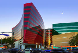 pelli clarke pelli architects headquarters office buildingspacific design center red building