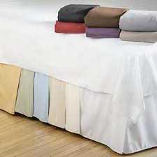 california king bed skirt.  Bed Cal King Bed Skirt 50 Cotton 200 Thread Count  Linens Etc Inside California