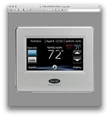 carrier infinity system thermostat. carrier infinity systxccitn01 thermostat touch control system