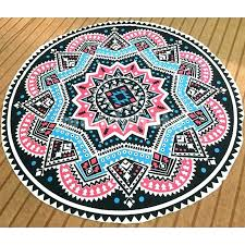 beach rugs home decor round rug mandala tapestry throw blanket themed australia b