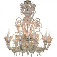 vintage murano glass chandelier
