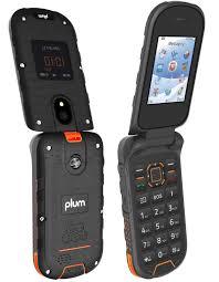 Plum Ram 8 - Rugged Flip Phone 4G GSM ...
