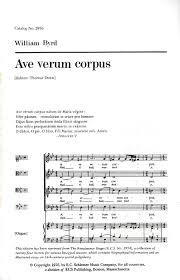 ave verum corpus sheet music ave verum corpus sheet music by william byrd sheet music plus