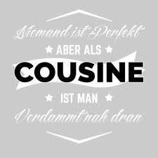 Bester Cousin Beste Cousine Der Welt Geschenk Männer Premium T