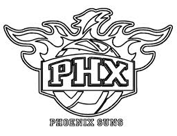 Small Picture Nba coloring pages phoenix suns ColoringStar