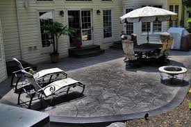 stamped concrete the best material to
