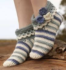 Free Crochet Slipper Patterns Adorable Our Favorite Crochet Slippers Collection The WHOot