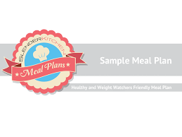 Sample Slender Kitchen Meal Plan - Slender Kitchen