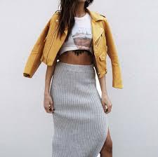 jacket girly girl girly wishlist leather jacket leather mustard yellow biker jacket