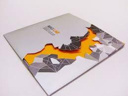 unique brochures unique cutout brochure graphic design pinterest brochures