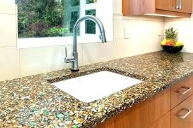 glass recycled kitchen counters countertops uk for kitchens cost of tempered