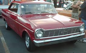 1965 Chevrolet Chevy II Nova SS coupé in red - Chevrolet 400 ...