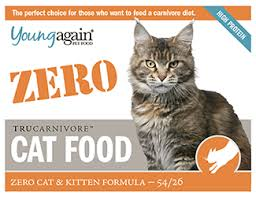 Cat Food Carbohydrate Chart Zero Formula