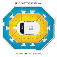 Uno Lakefront Arena Tickets