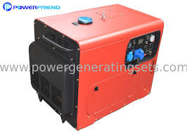 small portable diesel generator. Simple Generator AC Single Phase 220V Small Portable Diesel Generator 6kva Silent Genset  50HZ 60HZ And