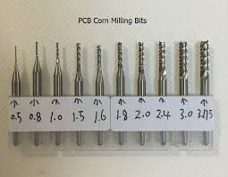 cnc router bits. tungsten carbide cnc router bit set / pcb milling bits with 3.175mm shank cnc