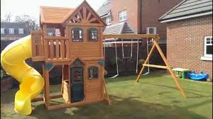 brilliant girls outdoor playhouse