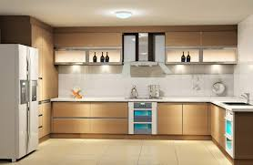 light coloured contemporary kitchen cabinets