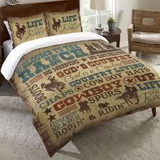 western bedding twin size cowboy lifestyle duvet cover lone star western decor