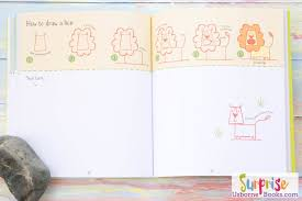 inside step by step drawing book