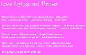Italian Love Quotes Beauteous Download Italian Love Quotes Ryancowan Quotes