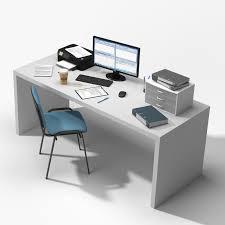 items for office desk. 3D Office Table Items Model For Desk R