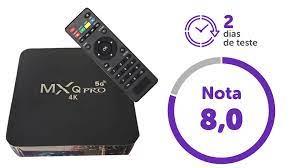TV box MXQ Pro 4K 5G: preço baixo, mas navegação deixa a desejar - DeUmZoom