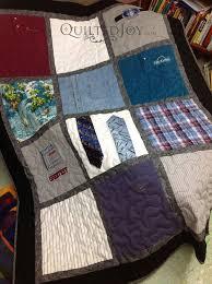 Memorial Quilt Using Ties and Shirts &  Adamdwight.com