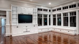 Living Room Built In Built In Bookcases Ideas For Small Space