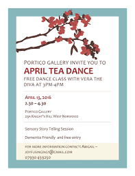 2016 sarah glover dementia friendly tea dance at the portico gallery