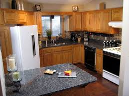 Yellow Wall Kitchen Kitchen Countertop Materials White Cherry Wood Kitchen Cabinet