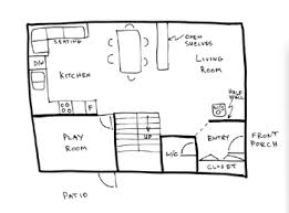 simple house sketch 2 draw floor plans on google house plans drawing