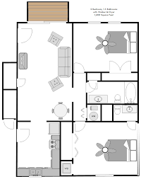 Amazing 2D   2 Bedroom, 1.5 Bathroom Apartment With Washer U0026 Dryer, Over 1000 Sf