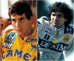 Resultado de imagem para Senna Prost Piquet Schummy