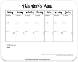 Blank One Week Calendar Free Weekly Schedule Templates For Word 18 Endearing Enchanting