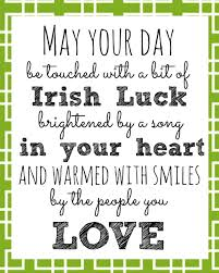 Irish Blessing Printable For St Patricks Day Share Your Craft