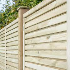 fence panels.  Fence Grange Contemporary Vogue 6ft Pressure Treated Wooden Fence Panels Intended F